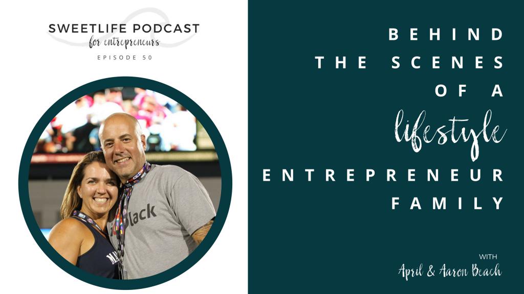 SweetLife Entrepreneur Podcast April Beach