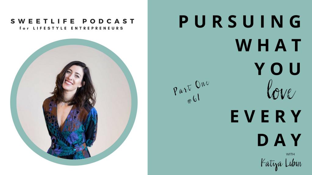 Katya Libin SweetLife Entrepreneur Podcast April Beach