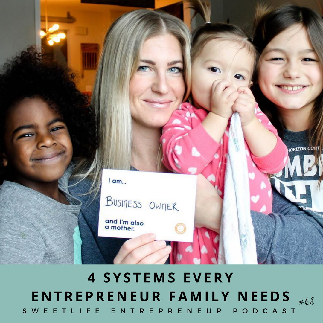 Episode 68: 4 Systems Every Entrepreneur Family Needs