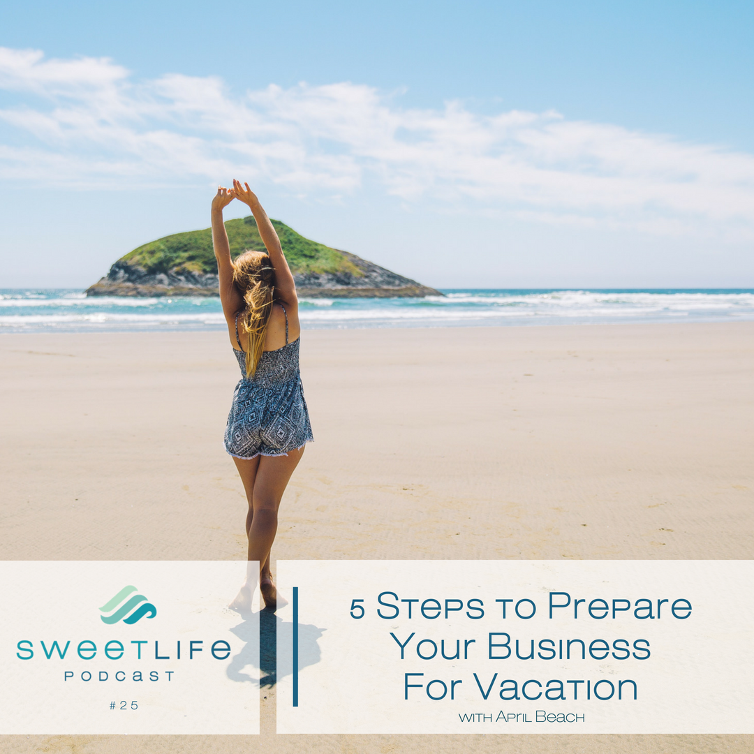 Episode 25: 5 Steps to Prepare Your Business for Vacation