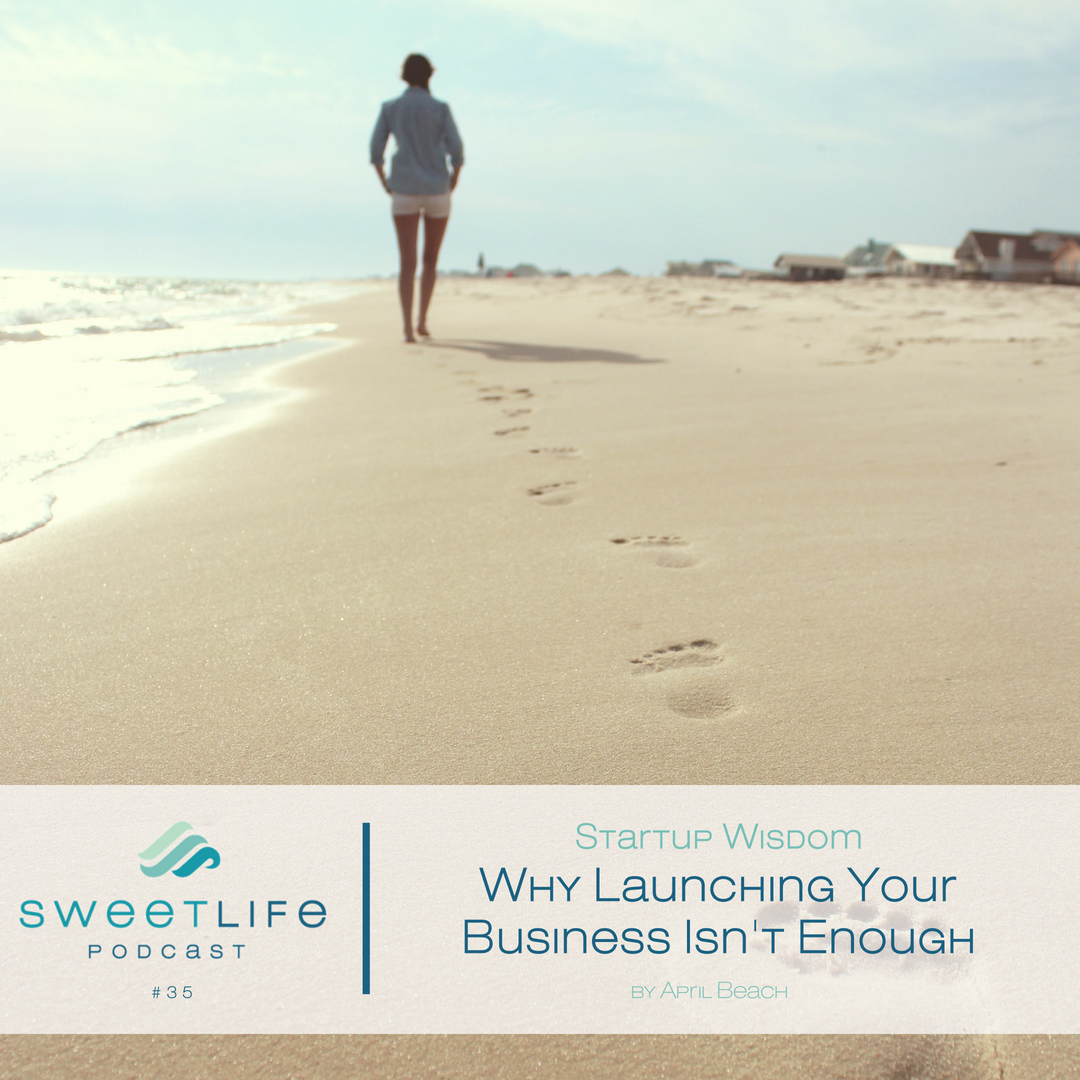 Episode 35: Startup Wisdom – Why Launching Your Business Isn't Enough