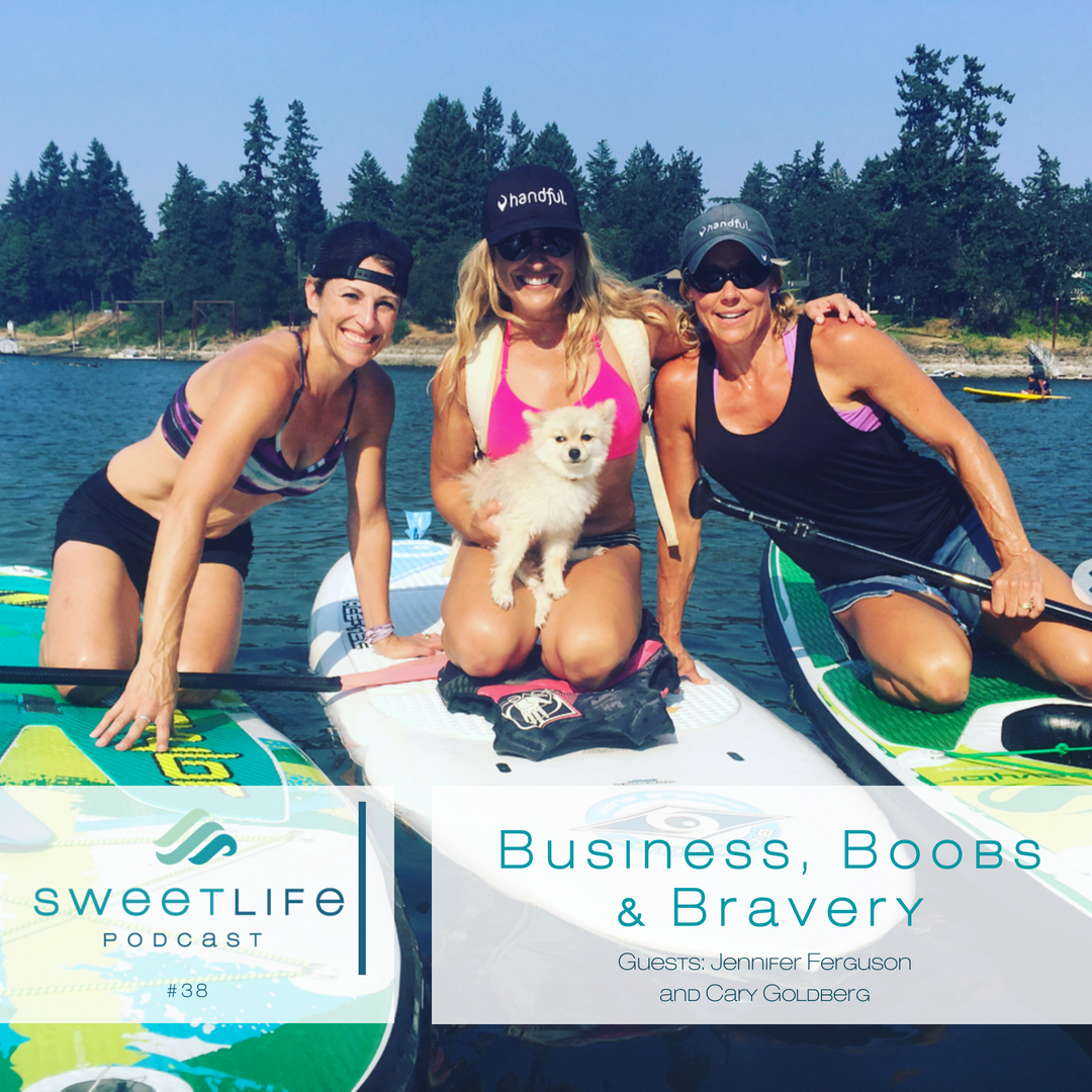 Episode 38: Business, Boobs & Bravery – With Handful