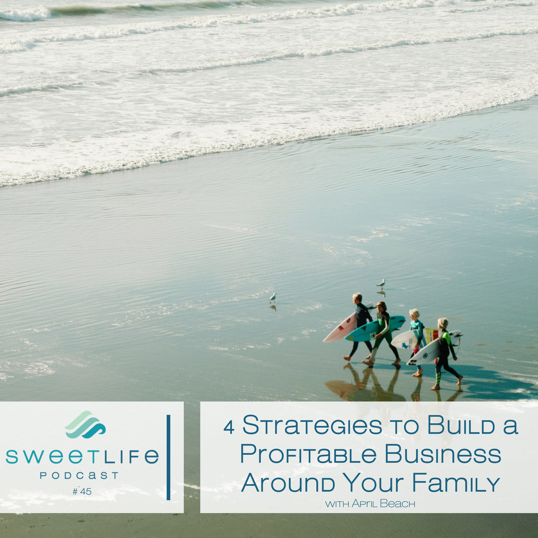 Episode 45: 4 Strategies to Build a Profitable Business Around Your Family