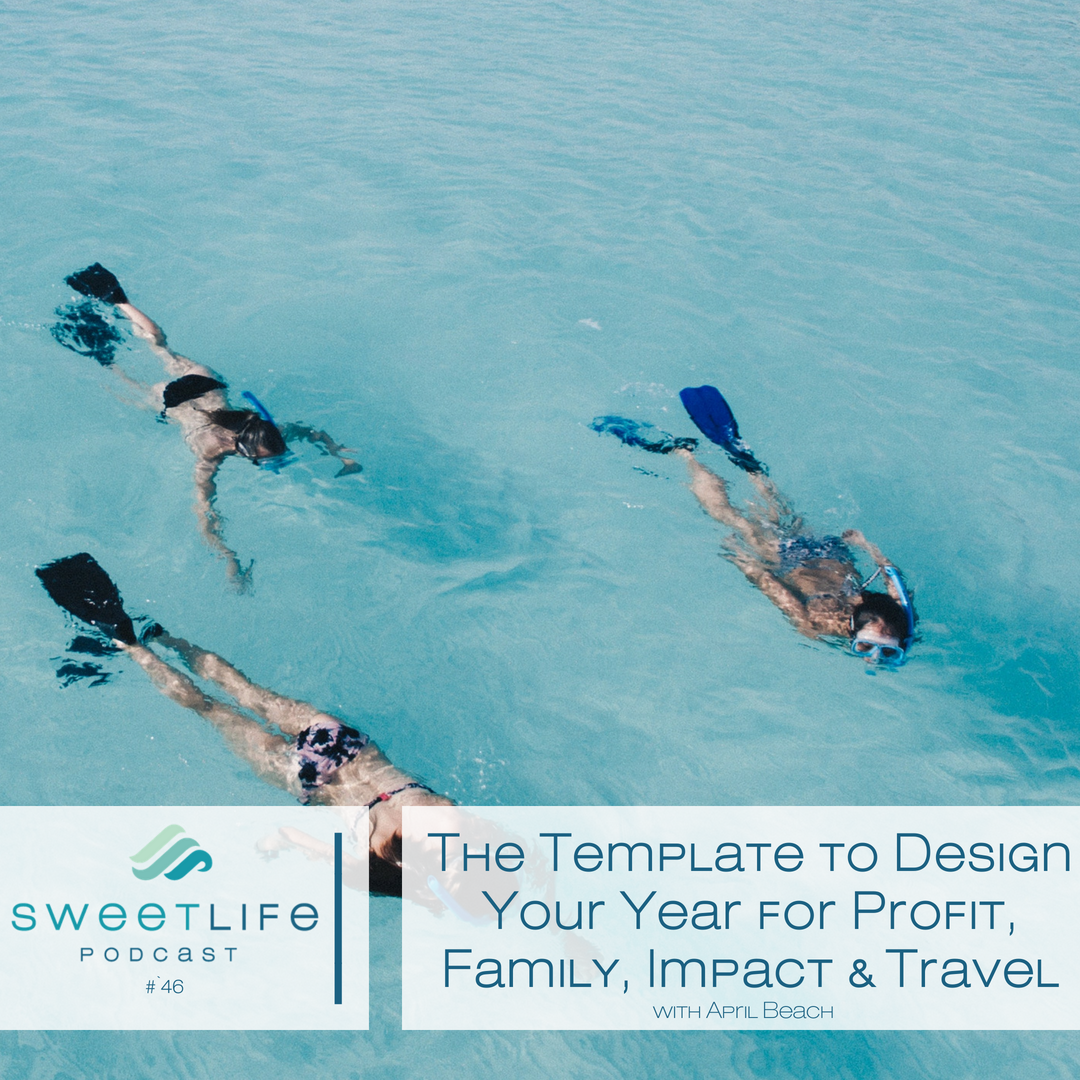Episode 46: The Template to Design Your Year for Profit, Family, Impact & Travel