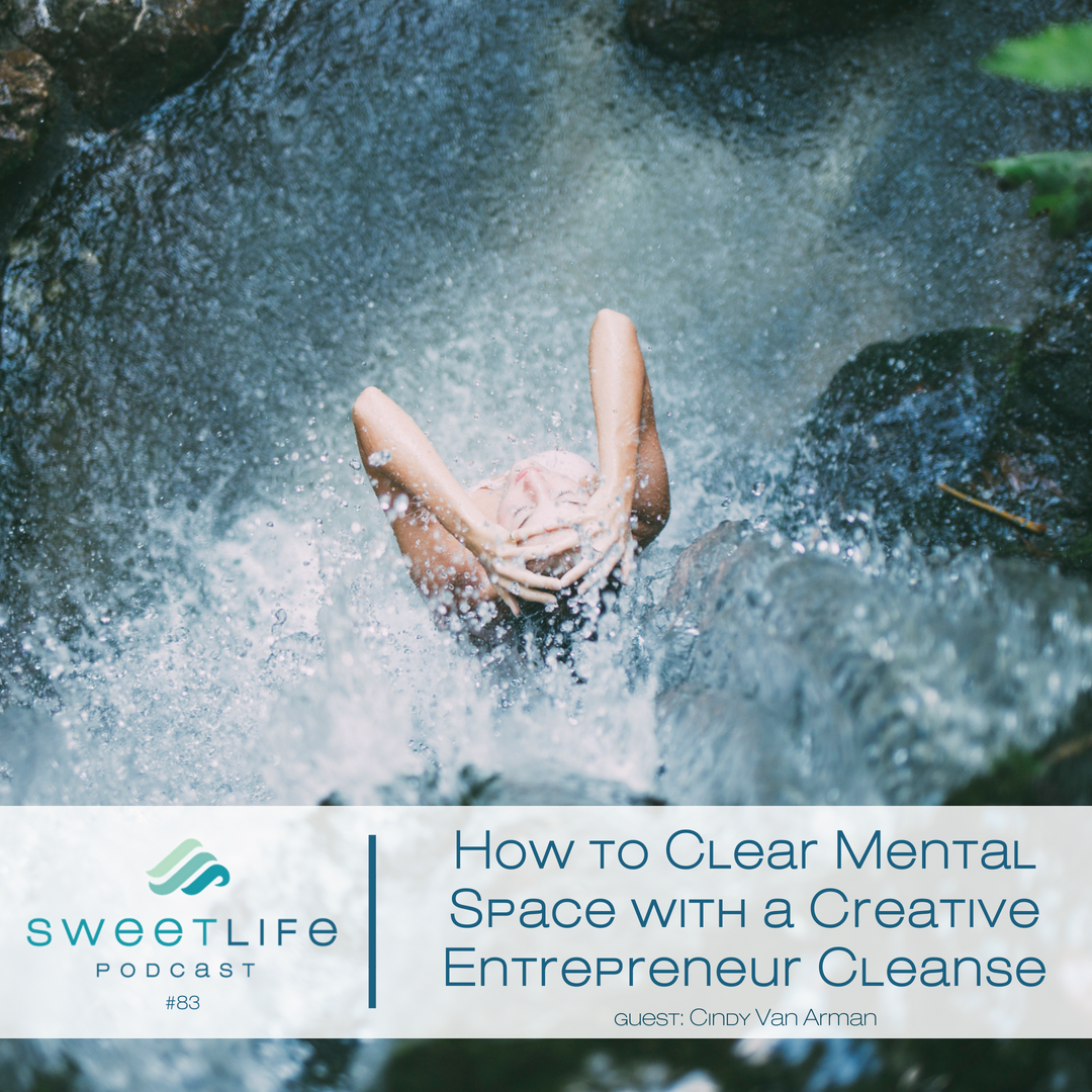 Episode 83: How to Clear Mental Space with a Creative Entrepreneur Cleanse with Cindy Van Arman
