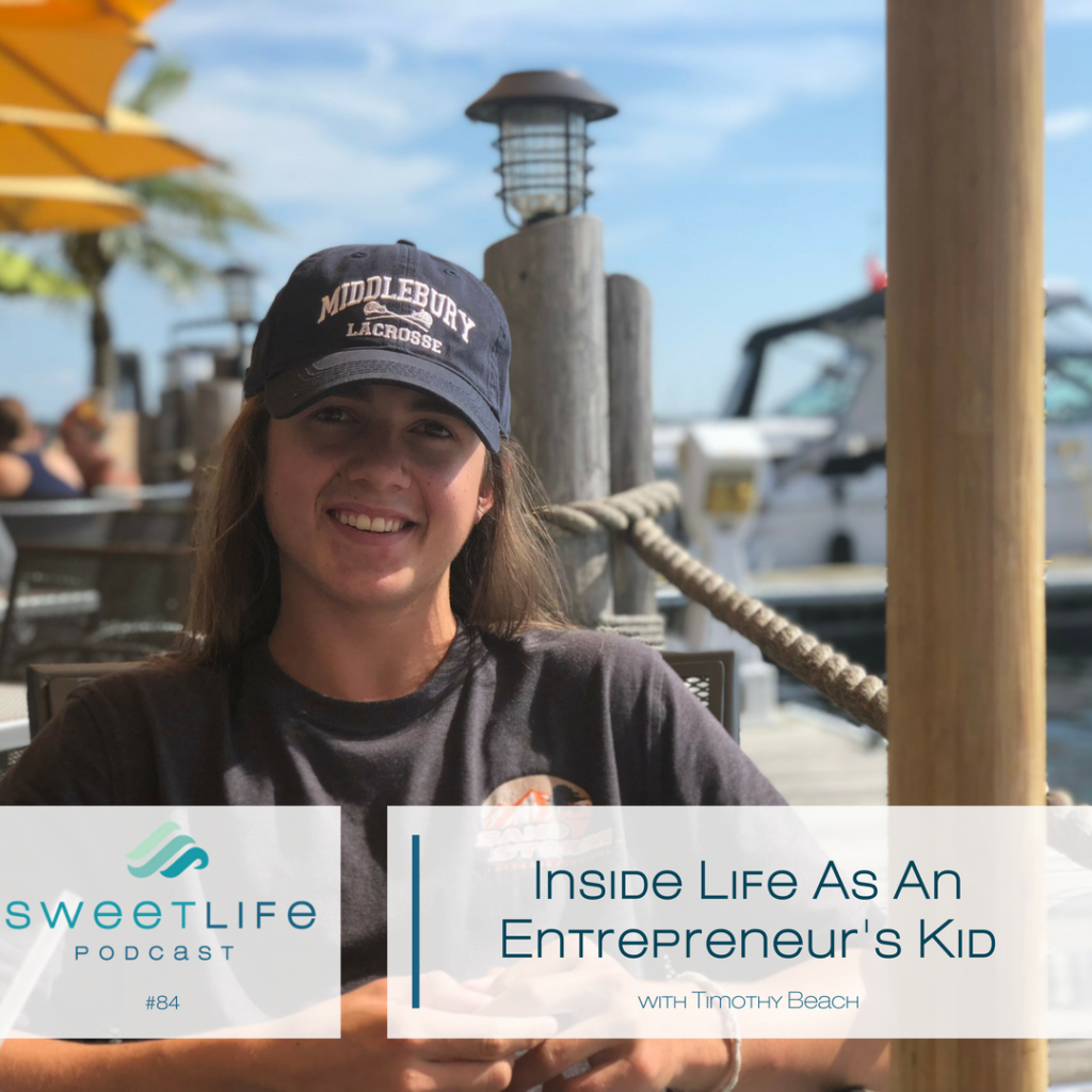 Timothy Beach SweetLife Entrepreneur Podcast April Beach