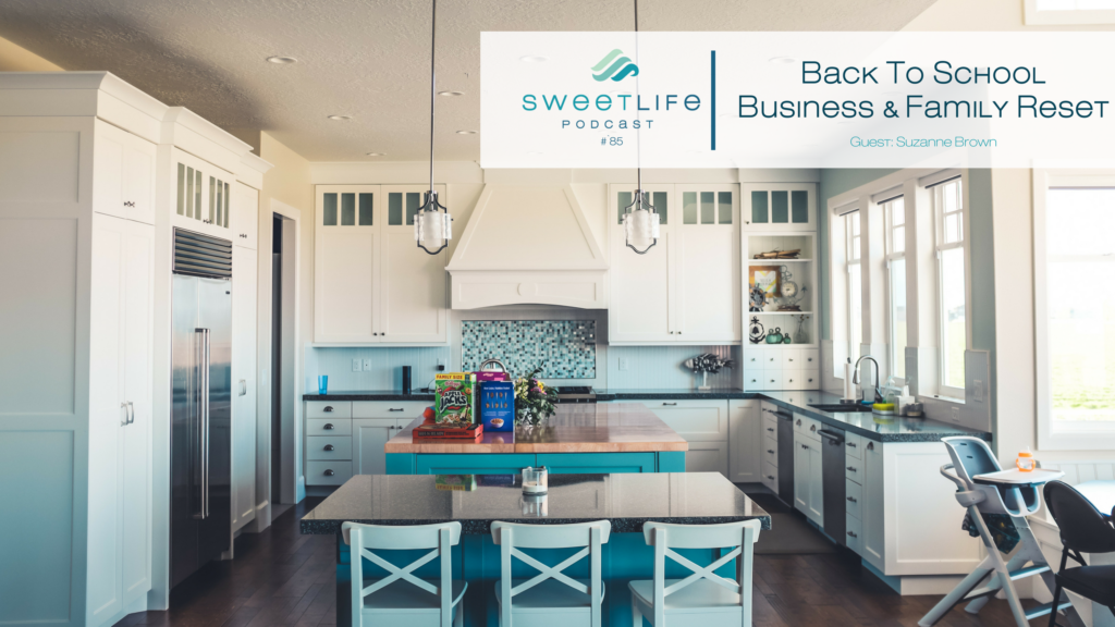 Suzanne Brown SweetLife Entrepreneur Podcast April Beach
