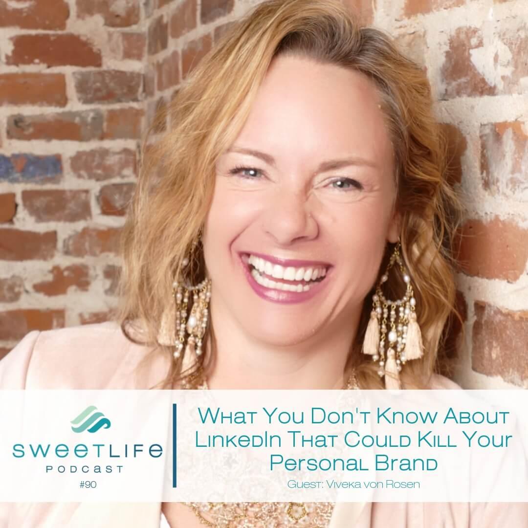 Viveka von Rosen SweetLife Entrepreneur Podcast April Beach