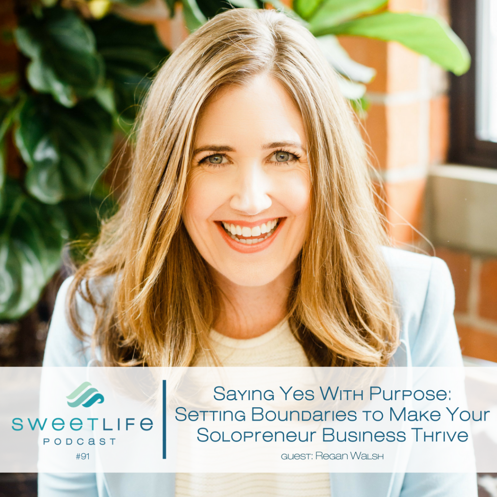 Regan Walsh SweetLife Entrepreneur Podcast April Beach