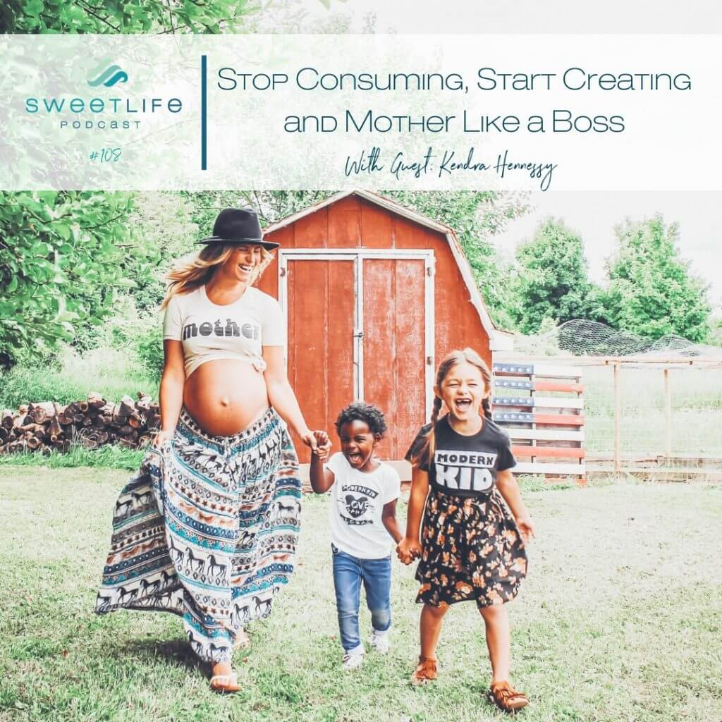 Kendra Hennessey SweetLife Entrepreneur Podcast April Beach