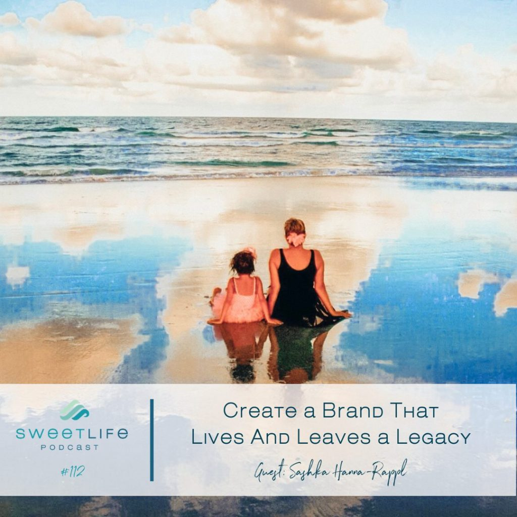 Sashka Hanna-Rappl SweetLife Entrepreneur Podcast April Beach