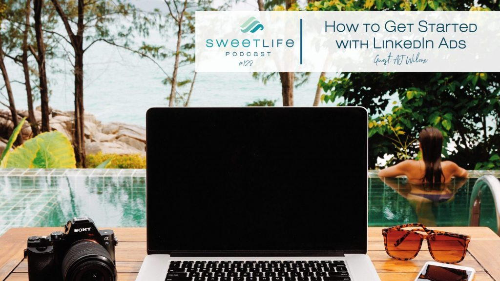 AJ Wilcox SweetLife Entrepreneur Podcast April Beach