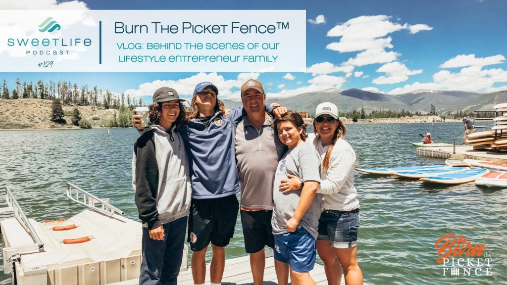 Burn The Picket Fence SweetLife Entrepreneur Podcast April Beach