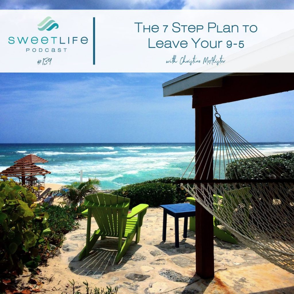 139 Christine McAlister SweetLife Entrepreneur Podcast April Beach