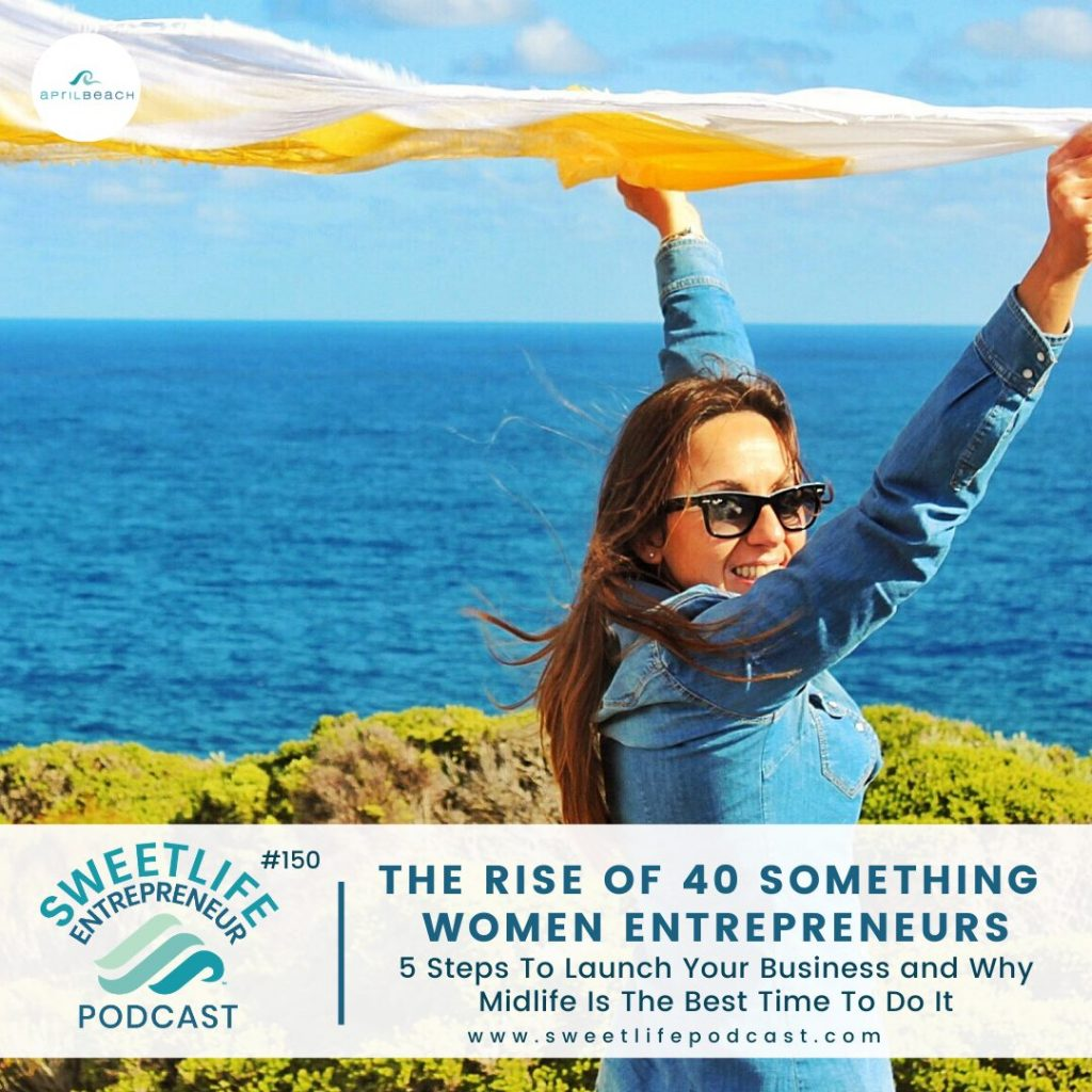 SweetLife Entrepreuner Podcast April Beach