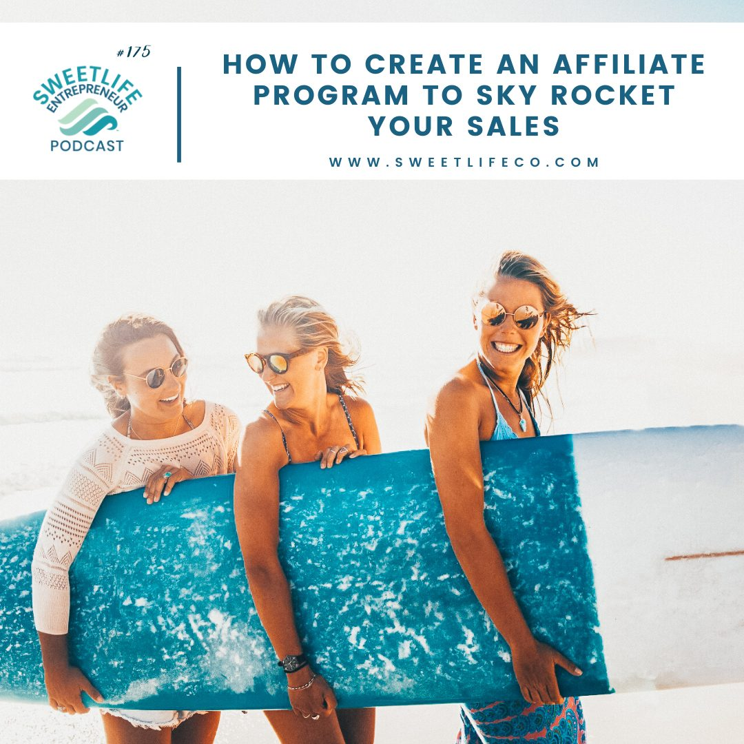Episode 175: How To Create An Affiliate Program To Sky Rocket Your Sales – with Laura Sprinkle