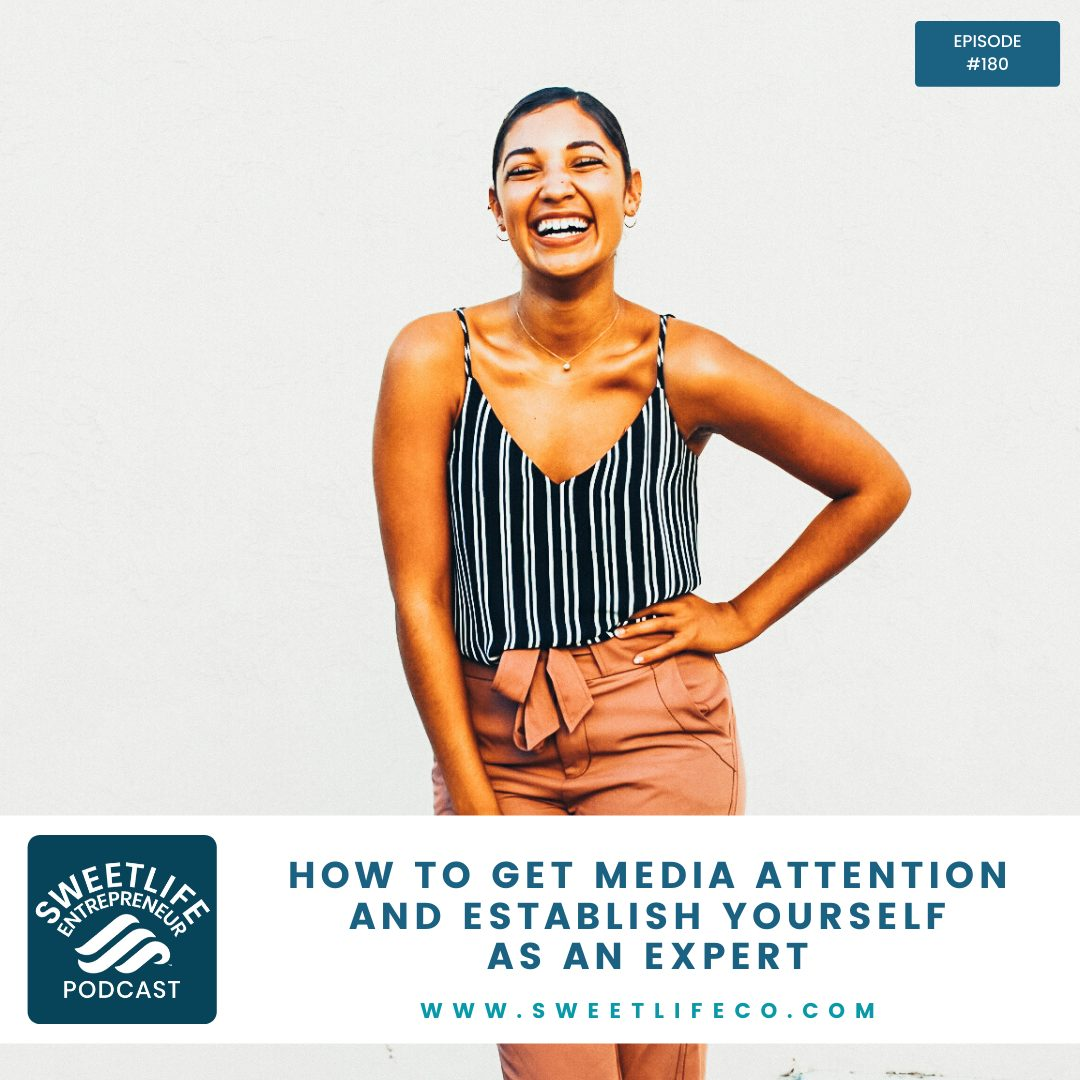 Episode 181: How To Get Media Attention And Establish Yourself As An Expert – with April Beach