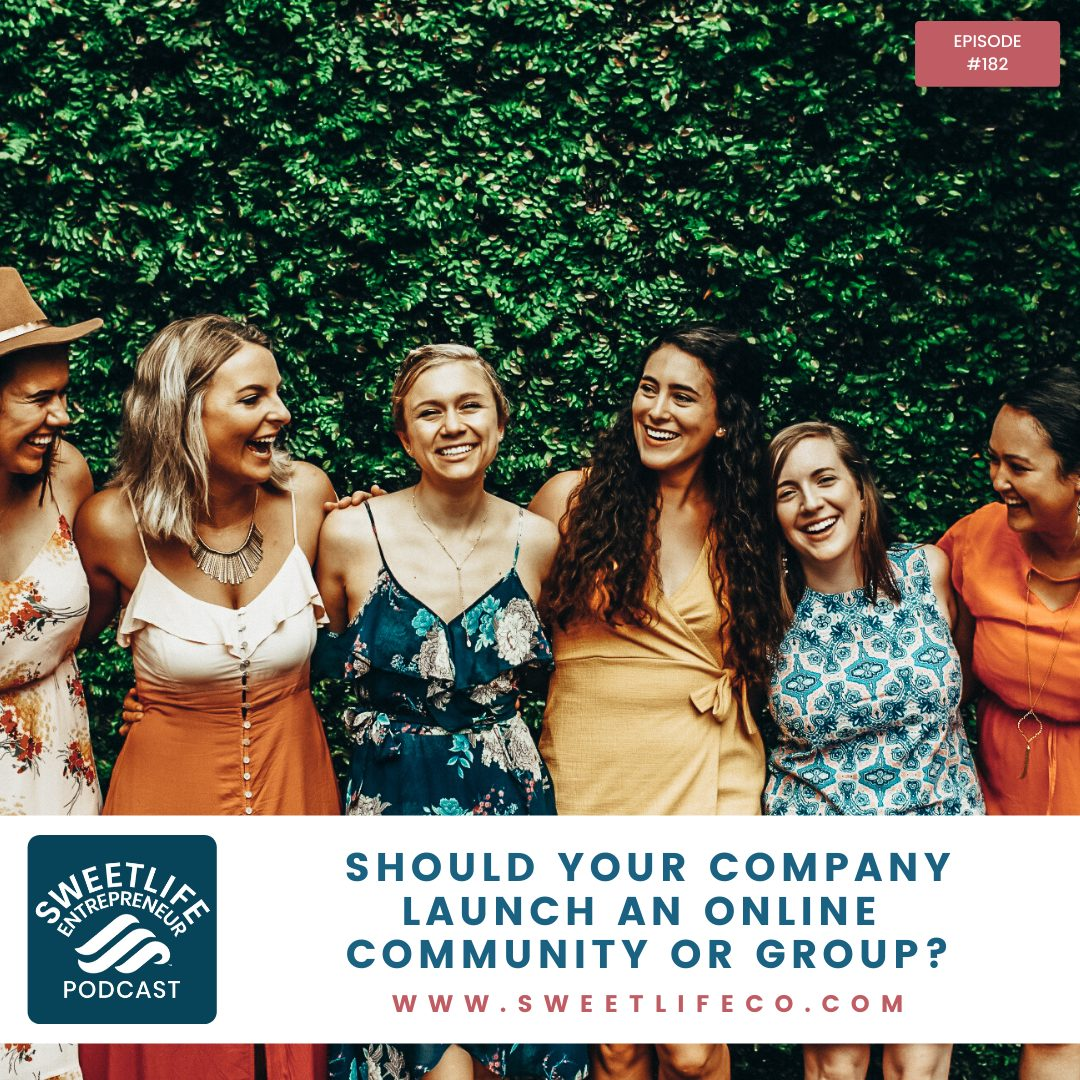 Episode 182: Should Your Company Launch an Online Community or Group? – with April Beach