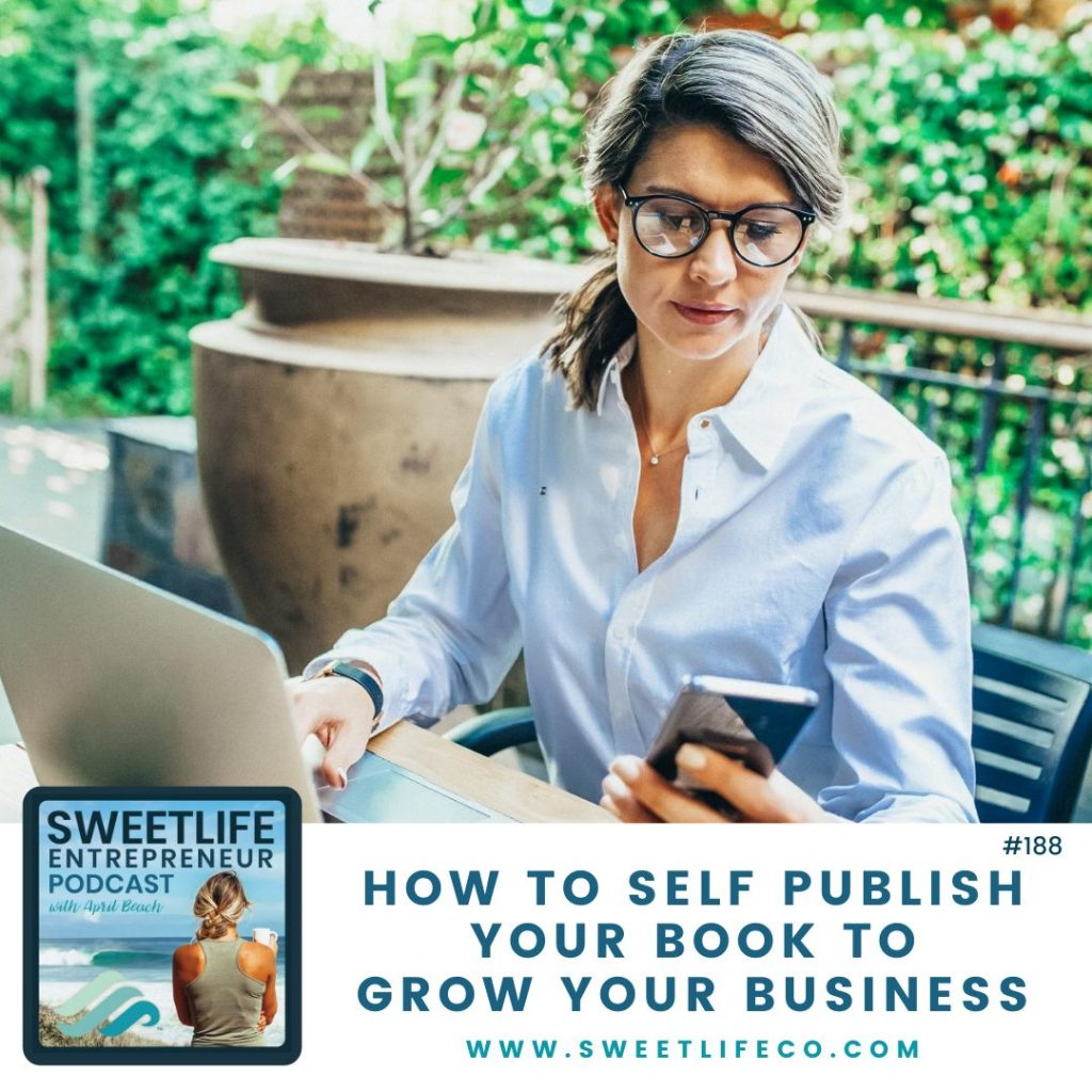 Alexa Bigwarfe SweetLife Entrepreneur Podcast April Beach