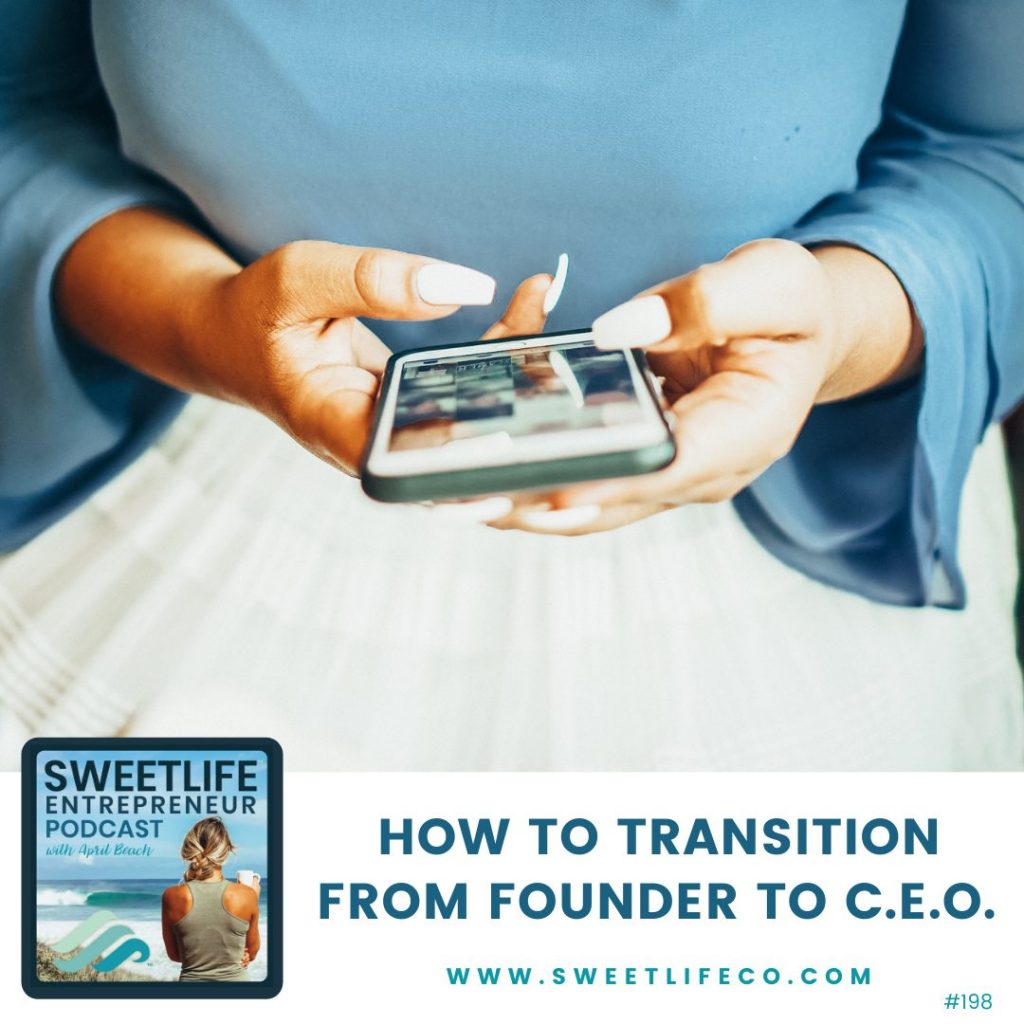 Kate Carney SweetLife Entrepreneur Podcast April Beach