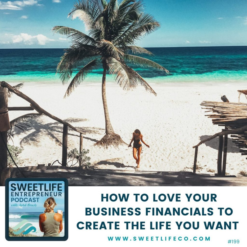 Megan Dahle SweetLife Entrepreneur Podcast April Beach