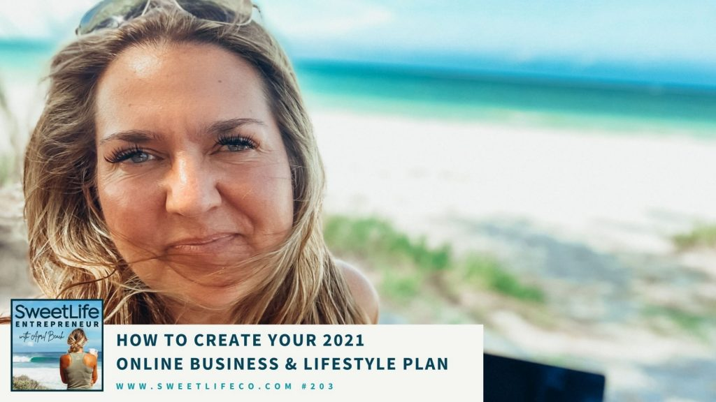 SweetLife Entrepreneur Podcast April Beach