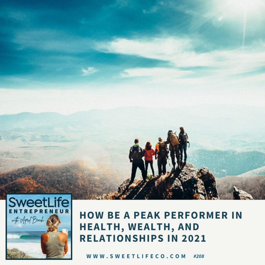 208 Eric Partaker SweetLife Entrepreneur Podcast April Beach