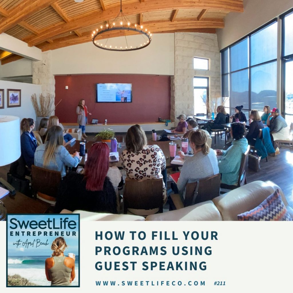 Heather Sager SweetLife Entpreneur Podcast April Beach