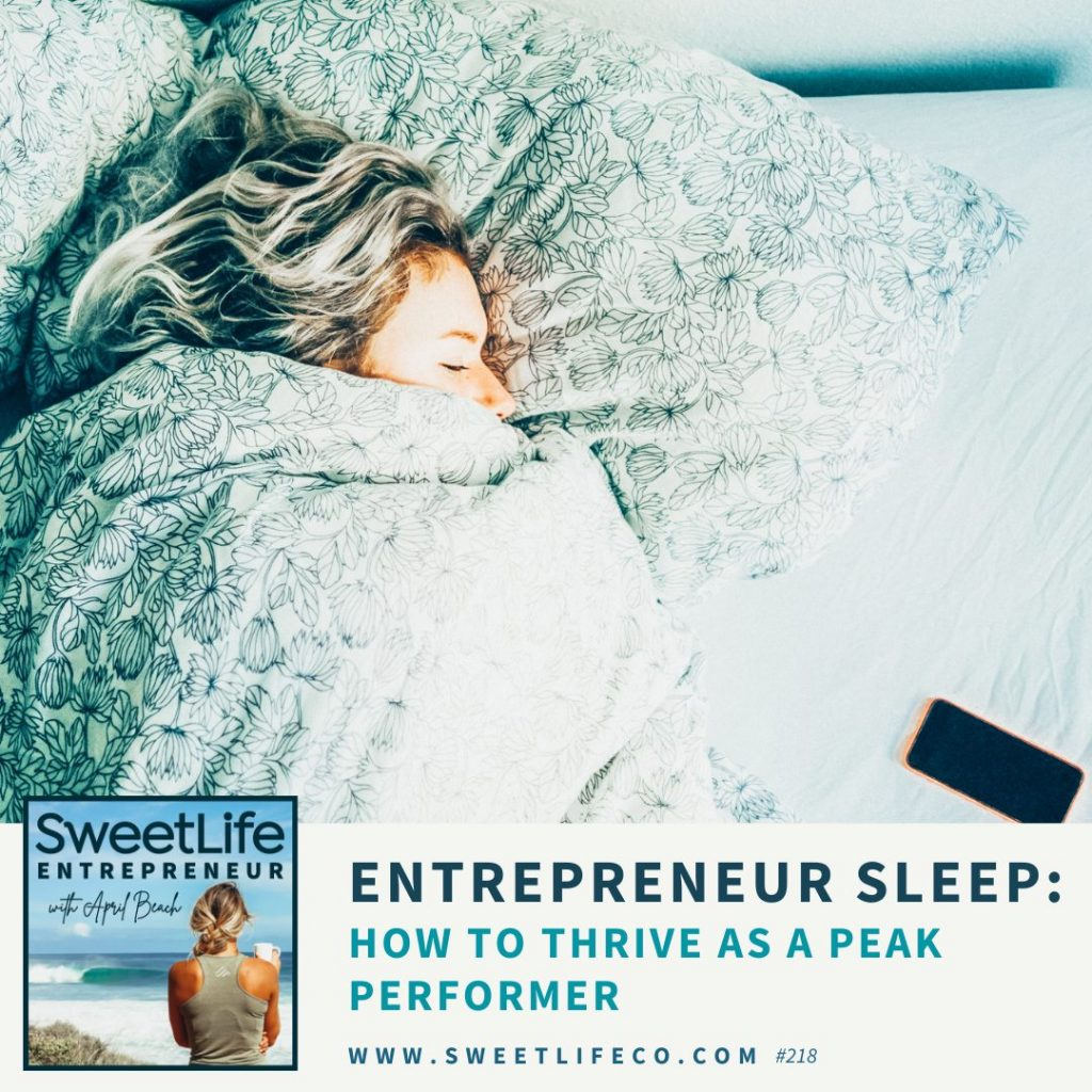 Mollie McGlocklin SweetLife Entrepreneur Podcast April Beach