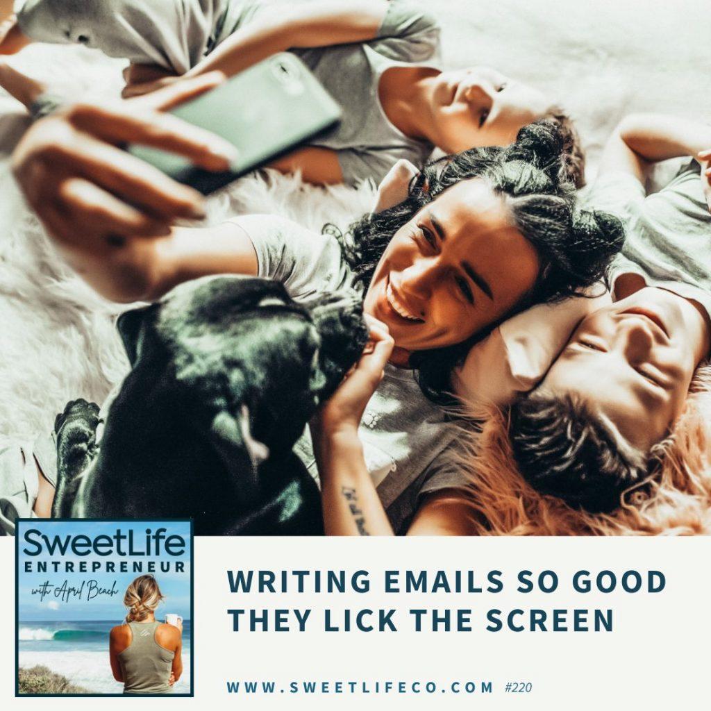 Kate Doster SweetLife Entrepreneur Podcast April Beach