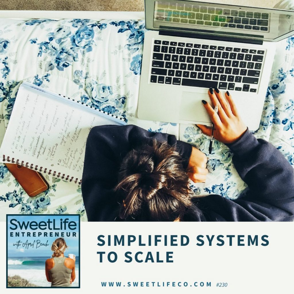 Brittany Keeling SweetLife Entrepreneur Podcast April Beach
