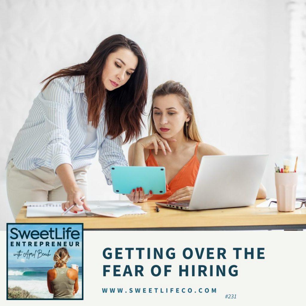 Theresa Loe SweetLife Entrepreneur Podcast April Beach
