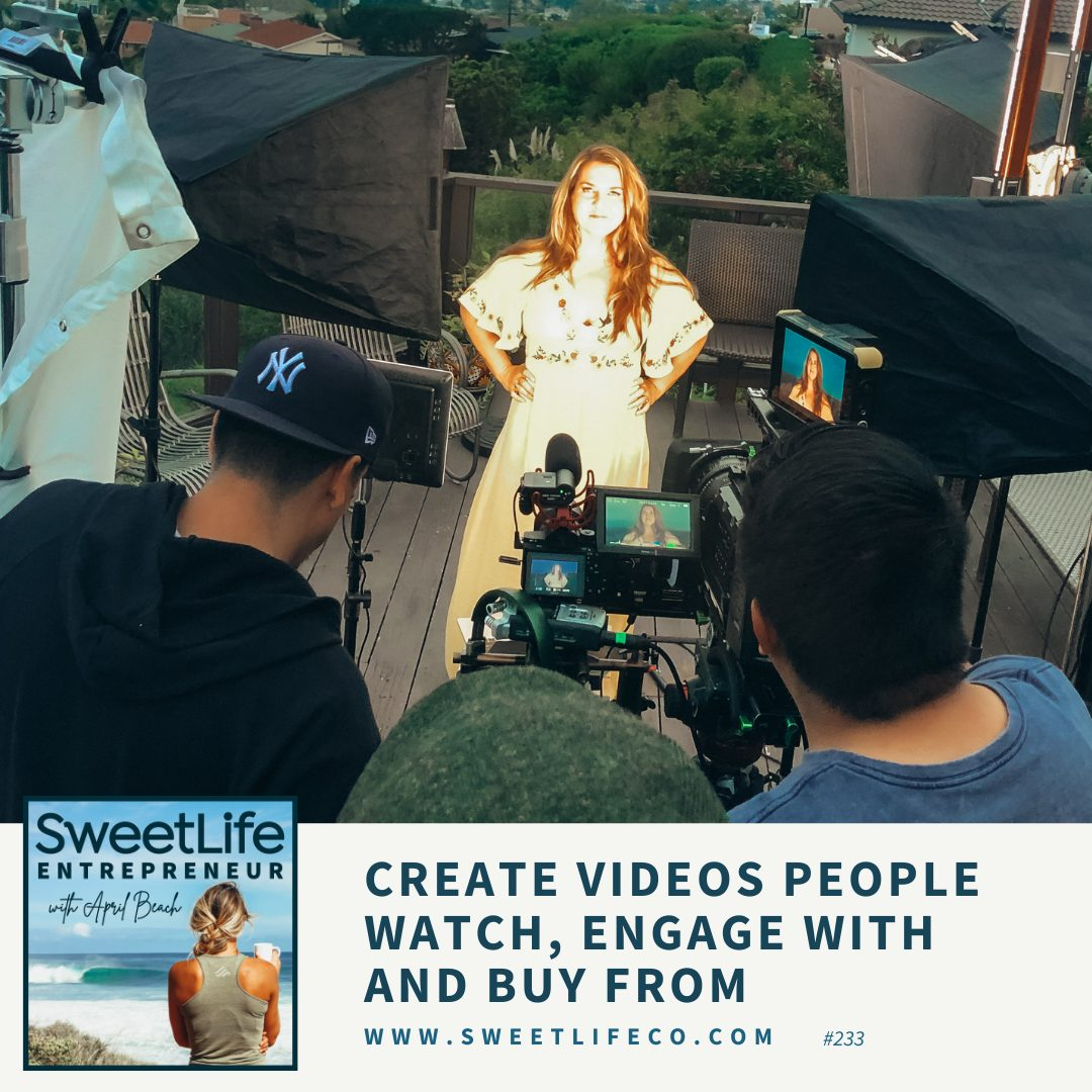 Episode 233: Create Videos People Watch, Engage With, and Buy From – with April Beach and McCall Jones