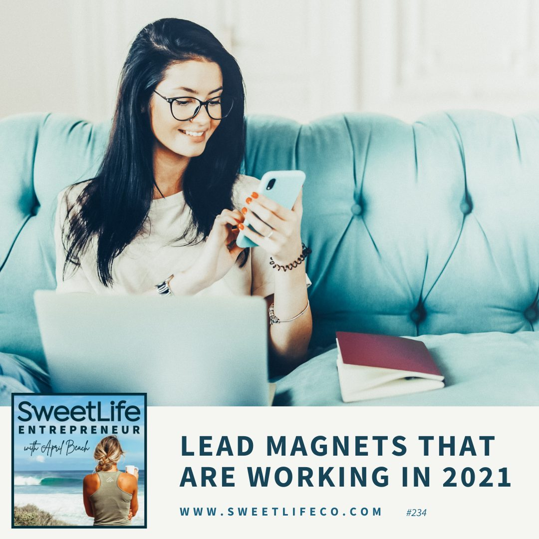 Episode 234: Lead Magnets That Are Working In 2021 – with April Beach